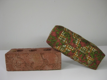 Brick by Brick - Fabric and fiberfill, 2010